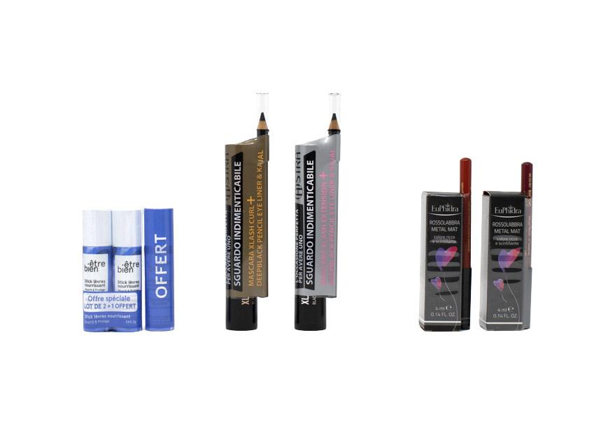 Etichette Sleeve Bundle-Bipacco per il settore cosmetico